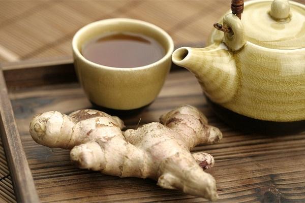 Имбирный чай для повышения потенции