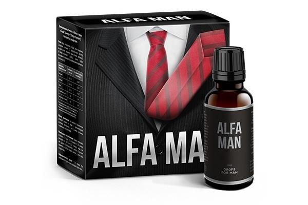 Мужские капли Alfa Man
