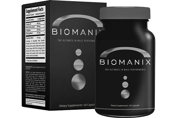 Капсулы Biomanix - место №8 в рейтинге