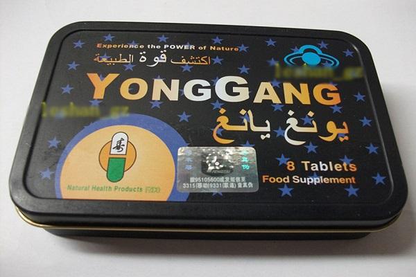 Как выглядит Янг Ганг для потенции?