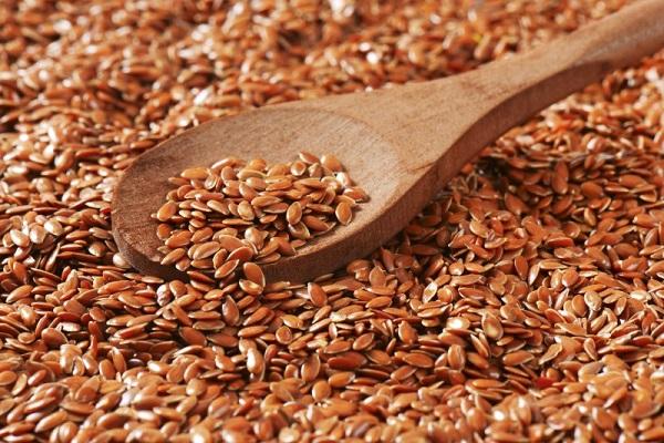 Как выглядят семена льна?