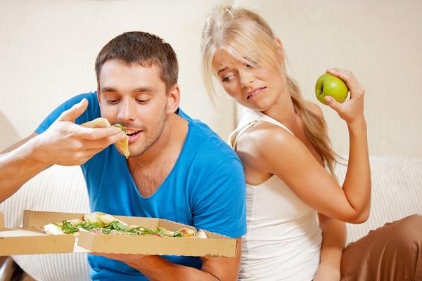 Лечение вялой потенции правильным питанием