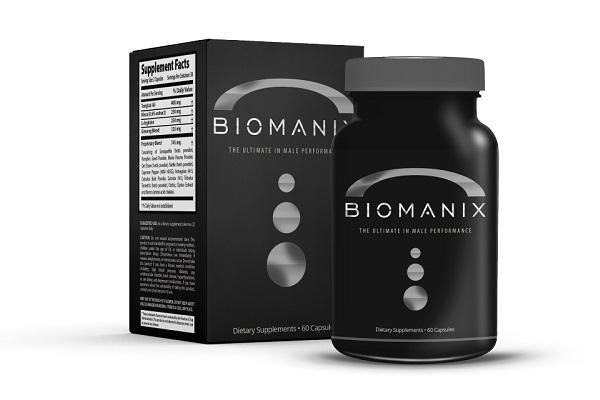 Действенные капсулы для эрекции Biomanix