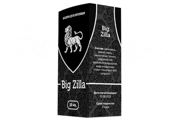 Big Zilla для улучшения эрекции