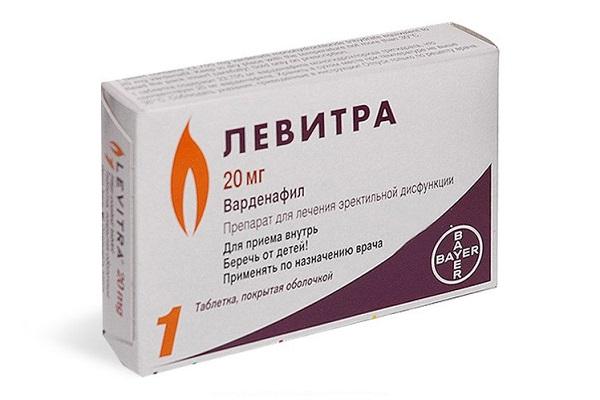 Левитра в таблетках