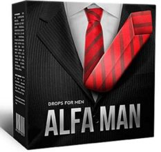 Alfa Man — эффективные капли для улучшения мужской силы