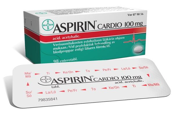 Таблетки Аспирин Кардио