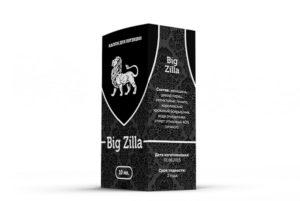 Как принимать капли для повышения потенции Big Zilla правильно?