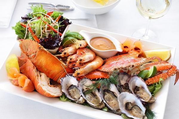 Разные морепродукты