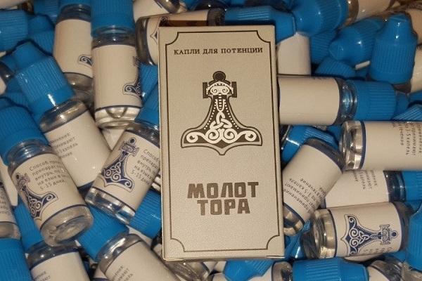 Молот Тора - лучший препарат для повышения потенции у мужчин по мнению многих