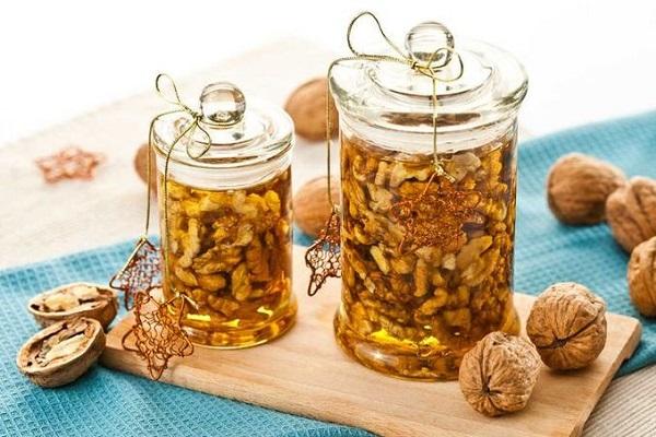 Рецепты с орехами для потенции