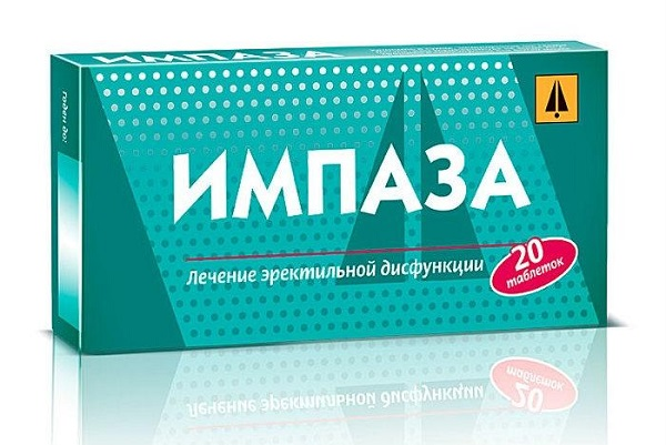 Препарат Импаза, входящий в рейтинг средств для повышения потенции у мужчин