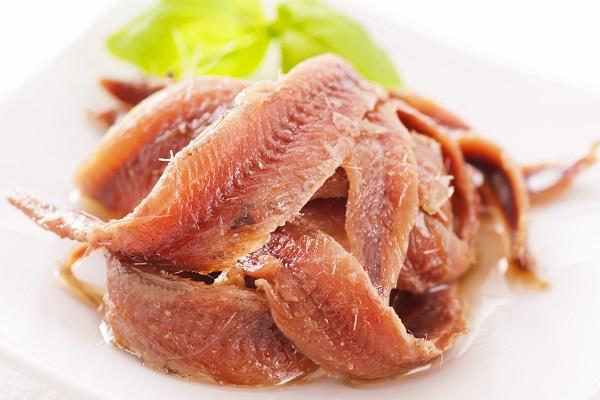 Мясо анчоусов
