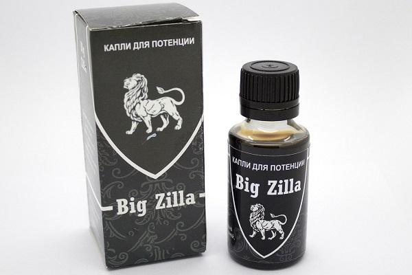 БАД для потенции у мужчин в возрасте BIG ZILLA