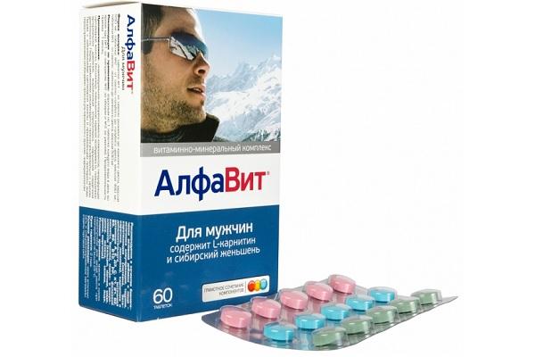 Витамины для мужчин Алфавит
