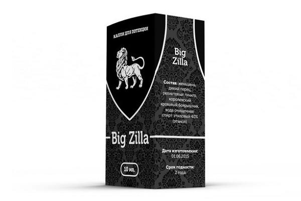 Капли для мужчин BIG ZILLA