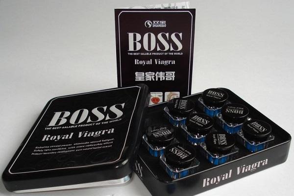 Как выглядит препарат Босс для потенции?