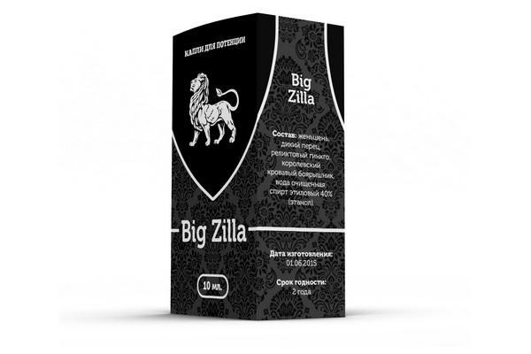 Big Zilla для мужского здоровья