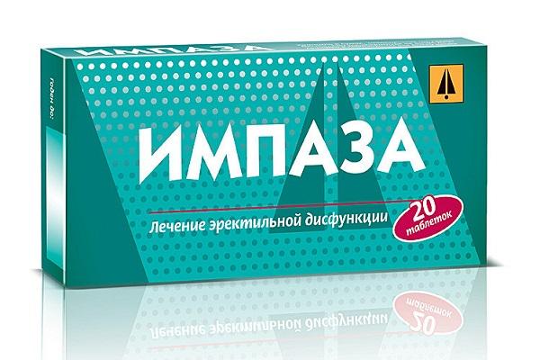 Импаза - полезные для мужчин таблетки