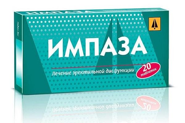 Дешевые таблетки для эрекции Импаза