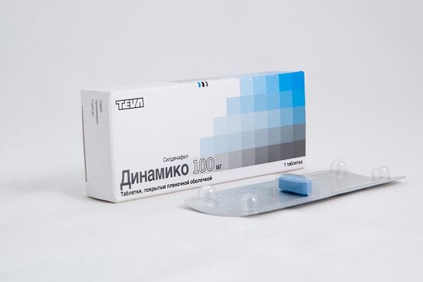 Бюджетные таблетки для потенции Динамико