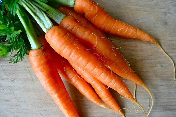 Овощи для потенции в виде моркови