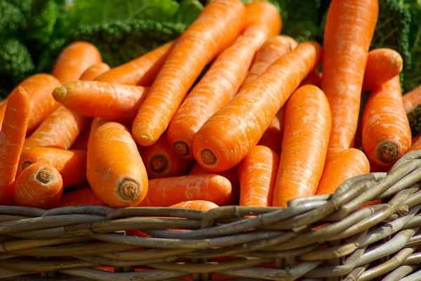 Корзина моркови