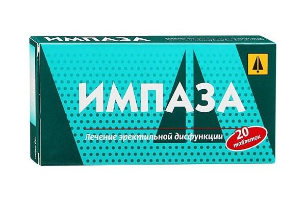 Гомеопатические таблетки Импаза