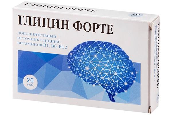 Полезный для потенции Глицин