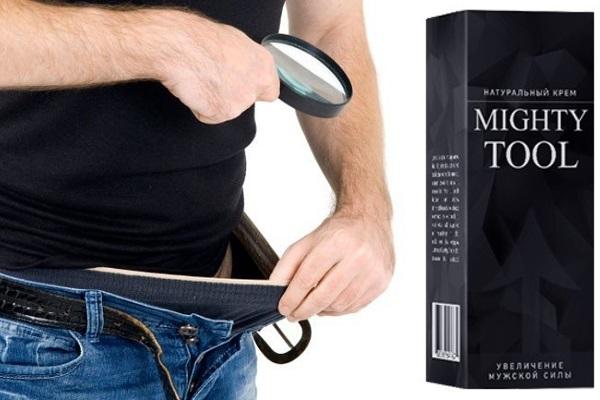 Применение Mighty Tool мужчиной
