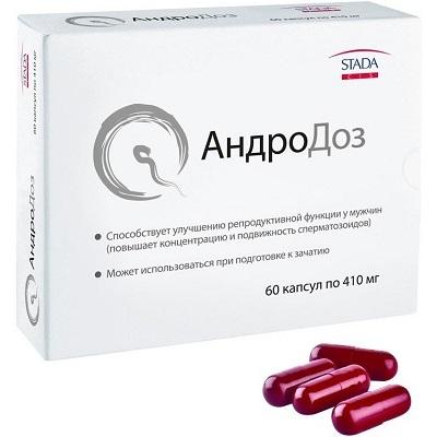 Таблетки Андродоз для мужчин