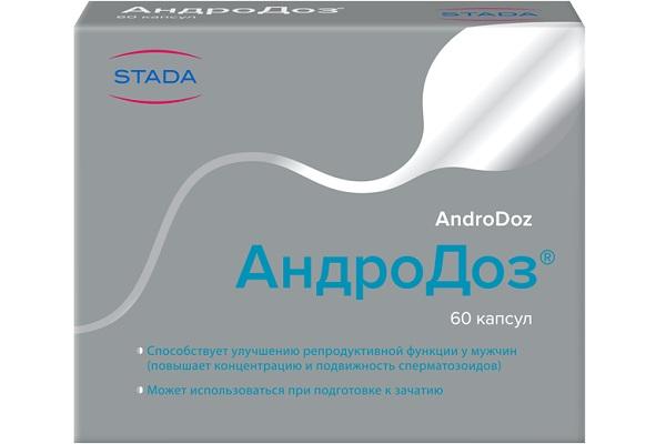 Андродоз для репродуктивной функции