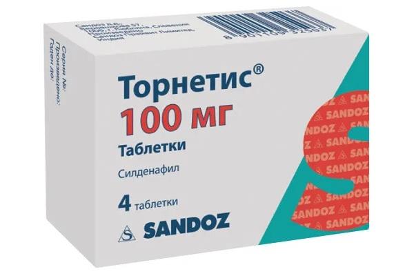 Торнетис 100 мг