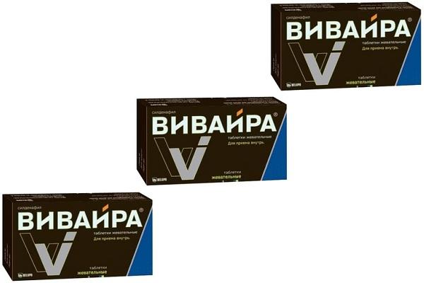 Применение жевательных таблеток Вивайра