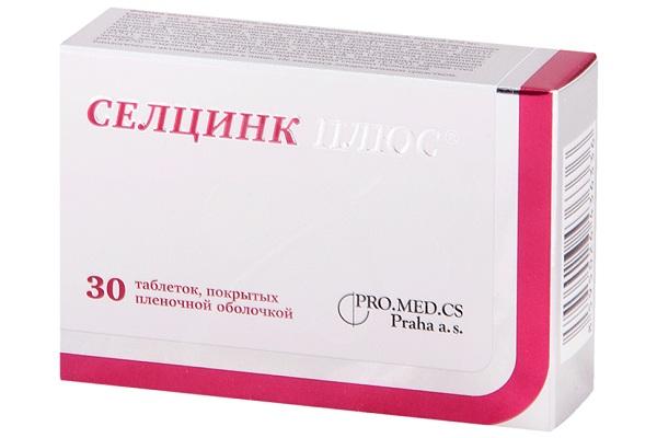 Полезный для мужчин препарат Селцинк Плюс
