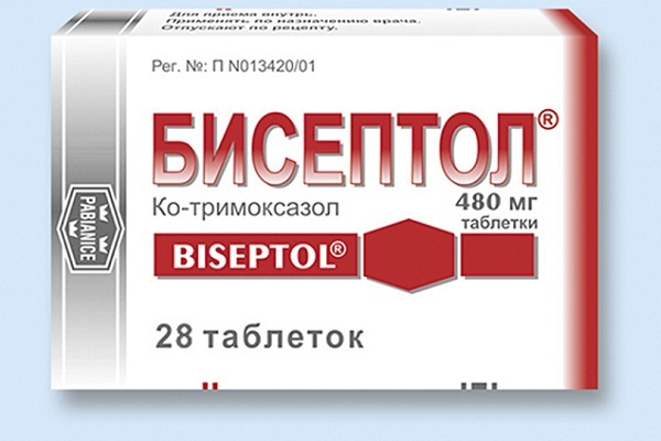 Применяемые при простатите таблетки Бисептол