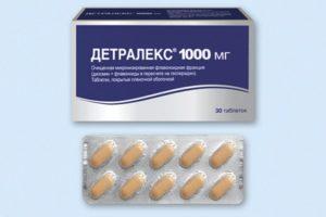 Как принимать Детралекс при простатите и будет ли эффект?
