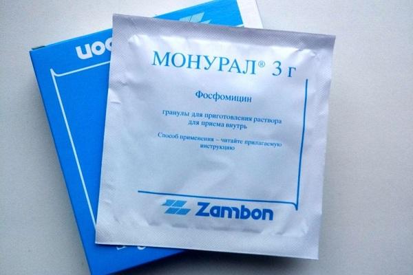 Лечение простатита Монуралом
