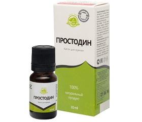 Капли Простодин для профилактики простатита