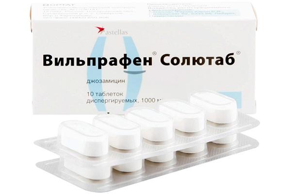 Вильпрафен 1000 мг №10 от простатита