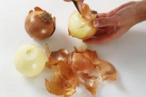 Лечение простатита и аденомы простаты луковой шелухой у мужчин