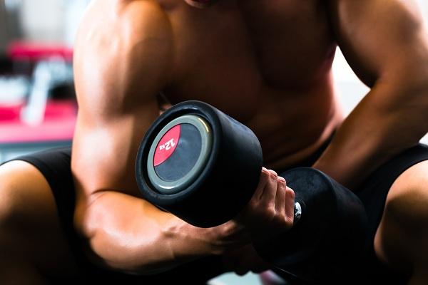 Мужская силовая тренировка
