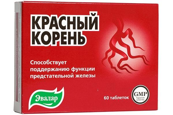 Красный корень в таблетках от Эвалар