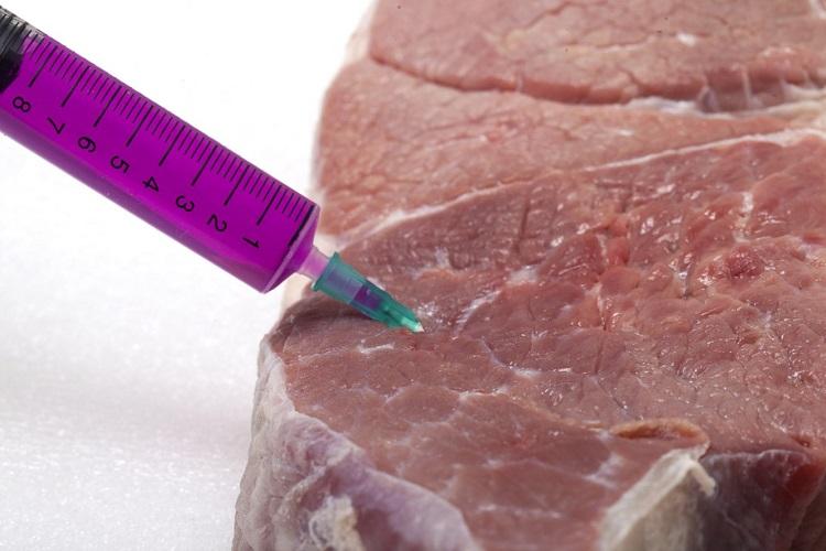 Мясо с гормонами